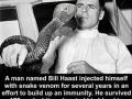 Snake immunity