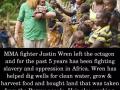 MMA fighter Justin Wren
