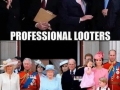 Different types of looters