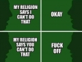 One way to view religion