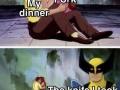 Everytime having dinner