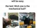 Test will be easy