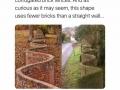 Interesting brick wall