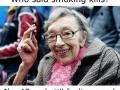 Who said smoking kills?