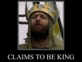 Claims to be King